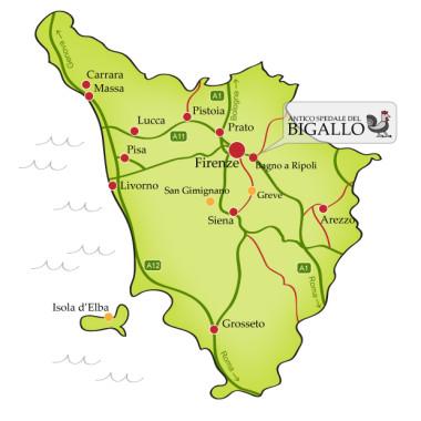 Itinerari antico spedale bigallo for Bagno a ripoli firenze mappa